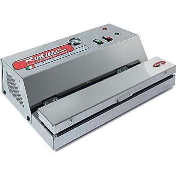 inox Appareil /à emballage sous vide automatique Ecopro 40 Reber gris 30l//min 900/Mo 9716/N 290/W