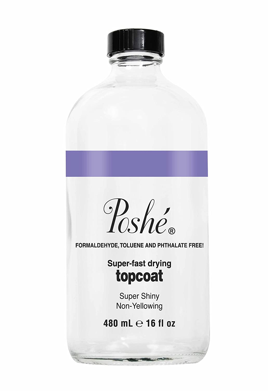 Poshe Super Fast Drying Max 60% Spring new work one after another OFF Top Fluid Coat 16 Ounce
