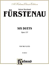 Six Duets, Opus 137: For Two Flutes (Kalmus Edition)