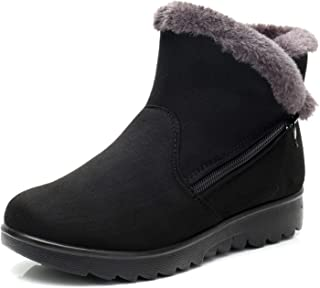 bolomee Dear Time Women Winter Warm Button Snow Boots