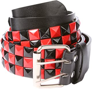 Best red black studded belt Reviews