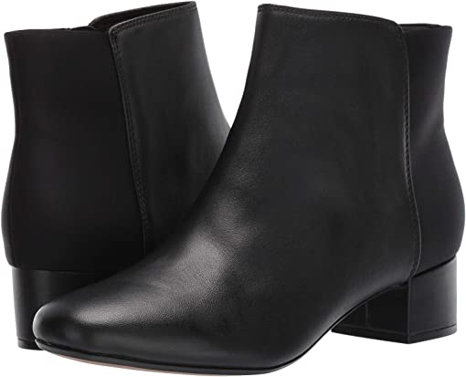 Black Combo Leather