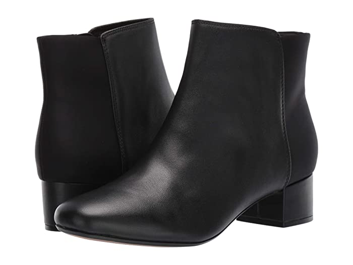 Clarks  Chartli Valley (Black Combo Leather) Womens  Boots