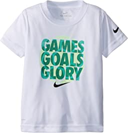 Nike Kids - Games Goals Glory Dri-FIT Tee (Toddler)