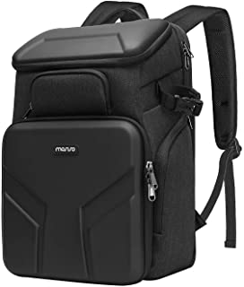 MOSISO Camera Backpack,DSLR/SLR/Mirrorless Photography Waterproof 17.3 inch Camera Bag Case with Front Hardshell&Laptop Co...