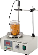 CO-Z Magnetic Stirrer Mixer Lab Mixer Magnetic Spinner Hotplate with Heating Plate 85-2 Digital Magnetic Mixer.