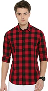 Rehan Men's Checkered Slim fit Casual Shirt