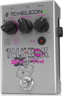 TC-Helicon Talkbox Synth Pedal for Singers/Electric Guitarists