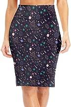 Galaxy Planet Classic Bodycon Pencil Skirt Business Mini Skirt Tube Tight Dress