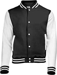 AWDis Hoods  Boys' Varsity Letterman Jacket