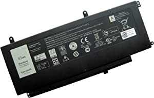 D2VF9 Replacement Laptop Battery Compatible with DELL 15 7547 7548 0PXR51 4P8PH G05H0(11.1V 43WH)