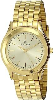 Titan Analog Gold Dial Men's Watch NM1648YM02/NN1648YM02