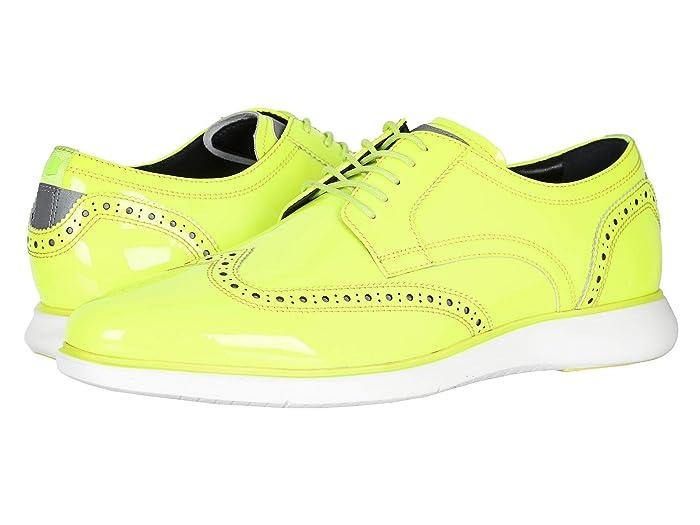 Florsheim  Fuel Neon Wingtip Oxford (Lime) Mens Shoes