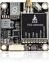 AKK FX2-ultimate US Version 5.8GHz VTX with MMCX Support OSD Configuring via Betaflight Flight Control Board Long Range FPV Transmitter