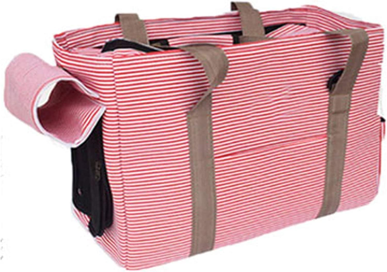 BeTti Pet Cat Backpack Ultralight Cat Bag Dog Bag Go Out Portable Bag Teddy Travel Bag Pet Cat Bag (color   Pink, Size   M)