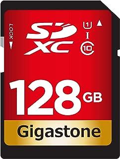 Gigastone 128GB SD Card UHS-I U1 Class 10 SDXC Memory Card High Speed Full HD Video Canon Nikon Sony Pentax Kodak Olympus Panasonic Digital Camera
