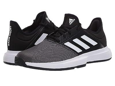 adidas GameCourt (Core Black/Footwear White/Grey Six) Women