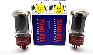 5881, Tungsol Reissue, Matched Pair