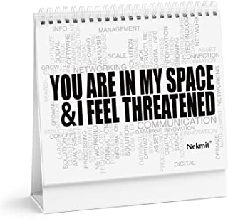 Office Mood Cards for Business Workplace, 15 Emotions and Funny Messages, and Blank Cards for Personalized Messages - Gift Box Included