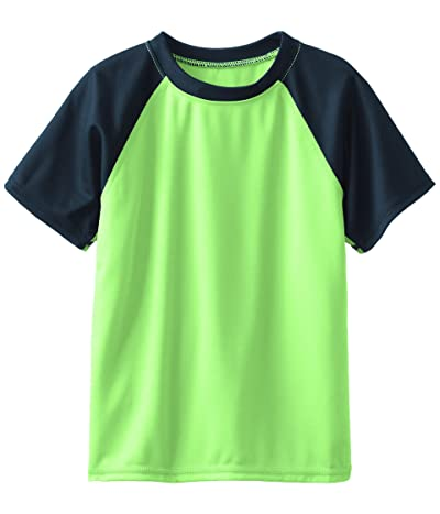 Kanu Surf Short Sleeve UPF 50+ Rashguard Swim Shirt (Toddler)