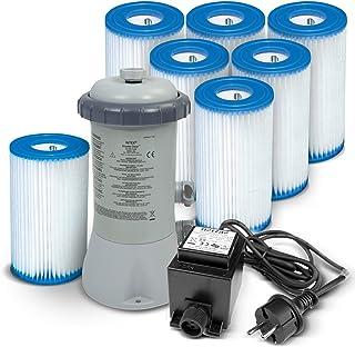 Bomba de filtro 3407litros/hora Intex 28638GS + Bomba Filtro tipo A (7unidades)