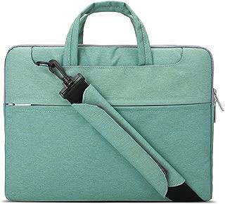 Lacdo 15.6 Inch Waterproof Fabric Laptop Shoulder Bag Notebook Sleeve Case Compatible MacBook Pro 15.4-inch 2012-2015 / Protective 15.6