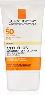 La Roche-Posay Anthelios Mineral Sunscreen SPF 50, Gentle Lotion