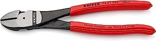 KNIPEX 74 01 200 High Leverage Diagonal Cutter black atramentized plastic coated 200 mm