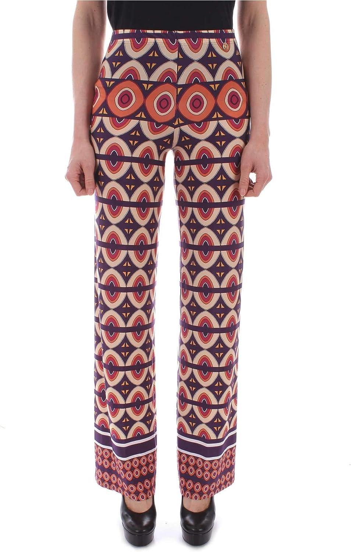 Ellei Women's 70609MULTI bluee Polyester Pants