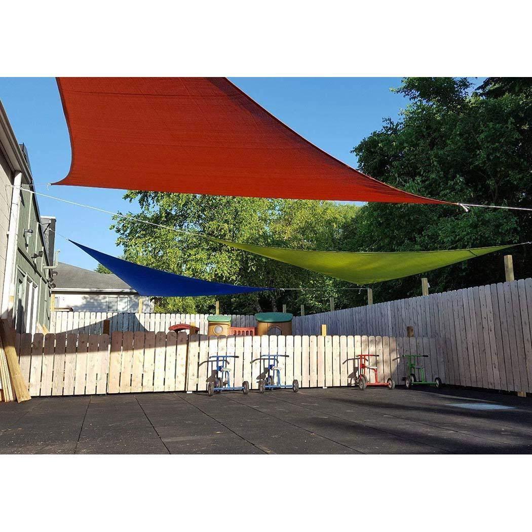 fnemo Toldo para el Sol, Triangular, protección UV, para el jardín ...