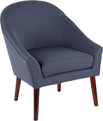 Amazon.com: Hebel Accent Slipper Upholstered Chair Living ...