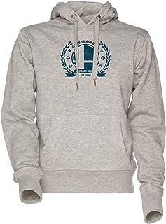 Vendax Smash Club Unisex Uomo Donna Felpa con Cappuccio Grigio Men's Women's Hoodie Sweatshirt Grey