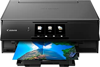 $89 » Canon TS9120 Wireless All-In-One Printer with Scanner and Copier: Mobile and Tablet Printing, with Airprint(TM) and Google Cloud Print compatible, Gray (Renewed)