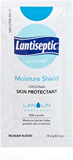 Moisture Barrier Skin Cream, 36 Pack.5 Oz Travel Packets – Lanolin Ointment Treats & Protects Dry, Irritated, Chaffed, Cracking Skin– 50% Lanolin Enriched – Lantiseptic