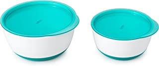 OXO Tot Small & Large Bowl Set with Snap On Lids - Teal