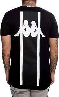 Kappa 304L0F0901 Authentic Bzalaya Tee Black XL - Camiseta para hombre