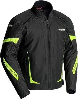 Cortech VRX 2.0 Men's Textile Street Motorcycle Jacket - Black/Hi-Viz Medium