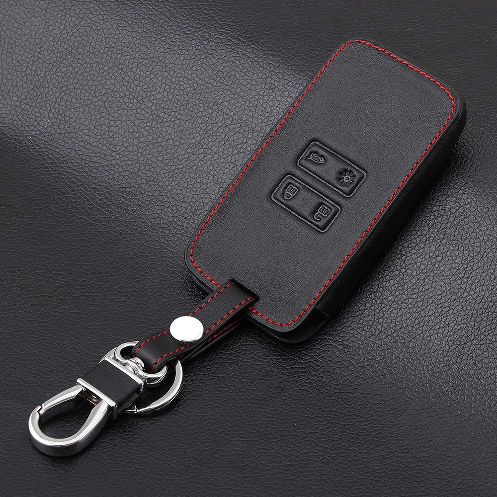 Car Leather Key Holder Protective Cover Case For Renault for Kadjar QC