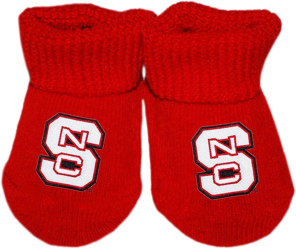 North Carolina State University Over item handling ☆ Newborn Sock At the price Bootie Baby