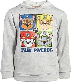 Nickelodeon Boys Paw Patrol Fleece Pullover Character Hoodie (Toddler/Little Kid) (Heather Grey, 2T)`