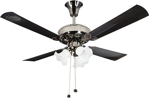 Crompton Uranus 48-inch Decorative Ceiling Fan (Black)