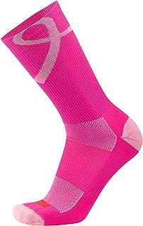 Sports Breast Cancer Awareness Pink Ribbon Crew Socks