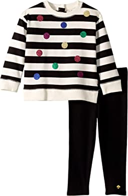 bab9bc3203f8 Kate spade new york kids kali stripe dress little kids big kids ...