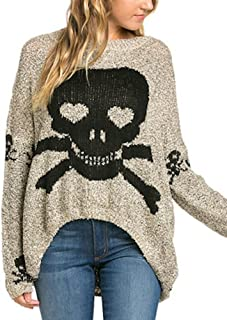 Best skull cashmere sweater Reviews