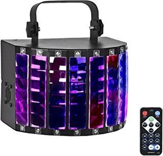 Eyourlife 7 Colors 30W DJ Lights IR Remote and DMX 512 Control for Disco Club Party Stage Lighting