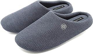[fantiny] 男女兼用 柔らかい 春 なつ 秋と冬の屋内家のスリッパ 滑り止め 消音タイプ 洗える靴