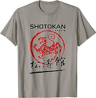 Shotokan Karate Tiger Martial Arts Tshirt
