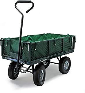 WilTec Carro de Transporte 300 kg con Lona extraíble Carro