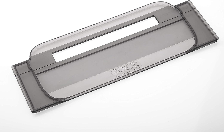 COLOP E-Mark 155449 Ruler Spasm price Transparent 100% quality warranty Smoky x 27.7 Grey 10.3 6