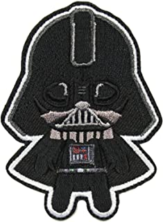 Star Wars The Phantom Menace Darth Vader Emoji Logo Iron on Patch